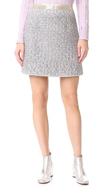 Marc Jacobs Bugle Bead Detailed Skirt