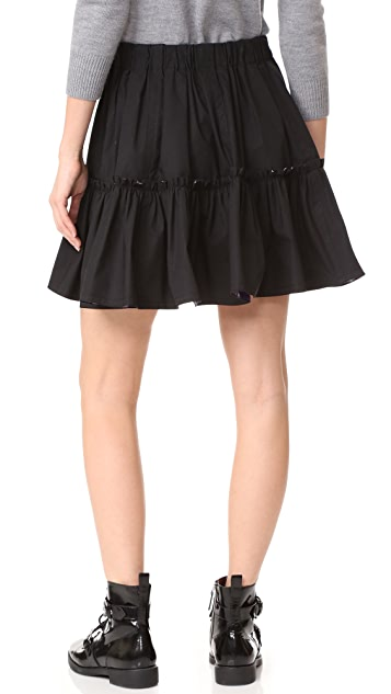 Marc Jacobs Short Ruffle Skirt