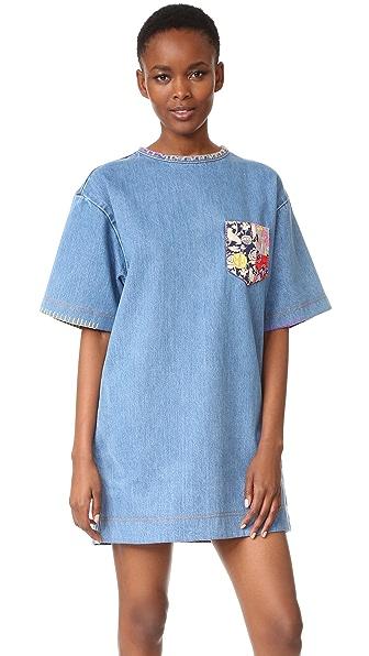 Marc Jacobs Embellished Denim Dress