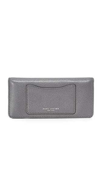 Marc Jacobs Recruit Open Face Wallet - Shadow