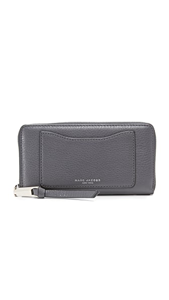Marc Jacobs Recruit Standard Continental Wallet - Shadow
