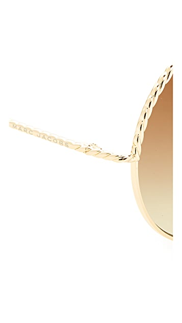 Marc Jacobs Rope Round Sunglasses