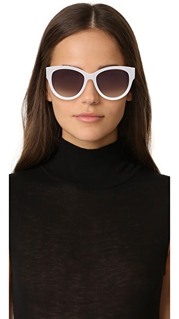 Marc Jacobs Double J Cat Eye Sunglasses