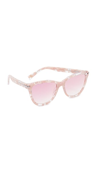 Marc Jacobs Cat Eye Sunglasses - Pink Havana/Pink