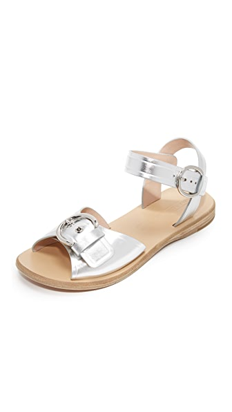 Marc Jacobs Horizon Flat Sandals - Silver