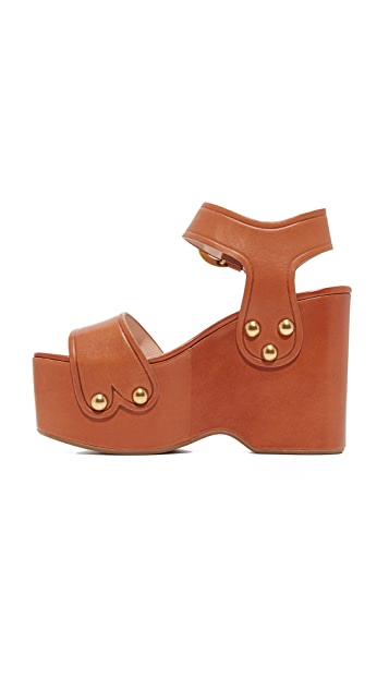 Marc Jacobs Lana Wedge Sandals