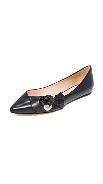 Marc Jacobs Pointy Toe Ballerina - Black