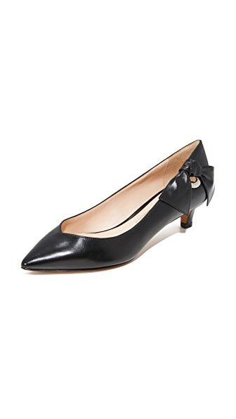 Marc Jacobs Ally Pointy Toe Pumps - Black
