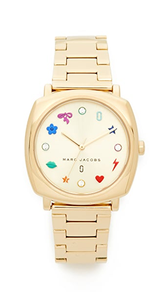 Marc Jacobs Mandy Watch - Gold/Sunray