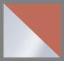 Sterling Silver/White/Tan