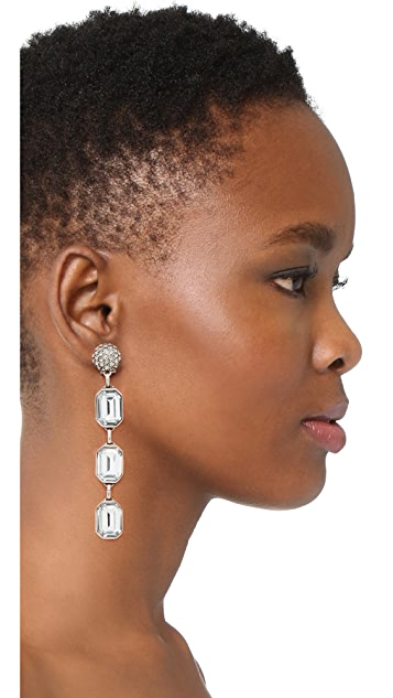 Marc Jacobs Stone Dangle Earrings