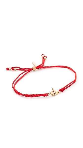 Marc Jacobs Thumbs Up Friendship Bracelet