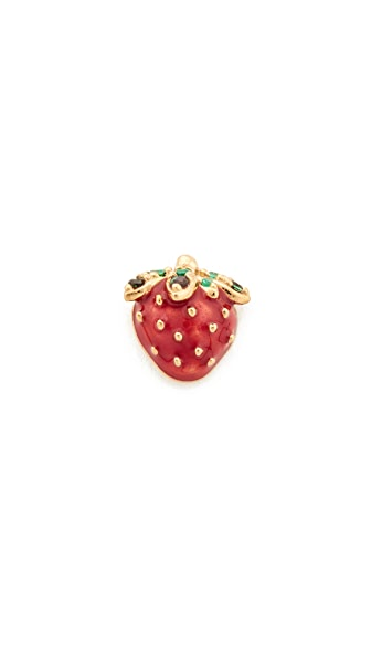 Marc Jacobs Strawberry Single Stud Earring