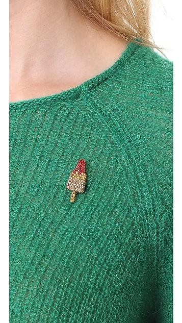 Marc Jacobs Strass Rocket Lolli Pin