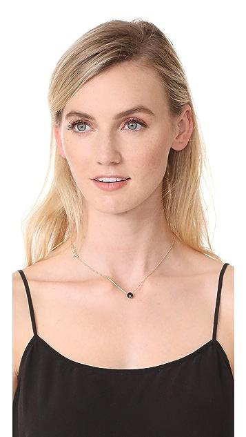 Marc Jacobs Icon Enamel Ball Necklace