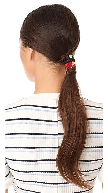 Marc Jacobs Raspberry Hair Ties