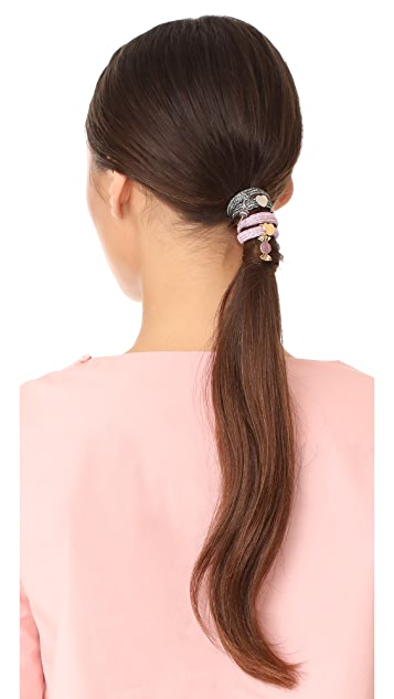 Marc Jacobs Swirl Candy Hair Ties