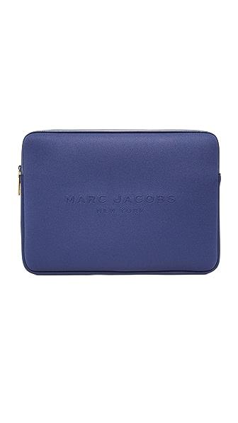 "Marc Jacobs 15"" Neoprene Computer Case In Midnight Blue"