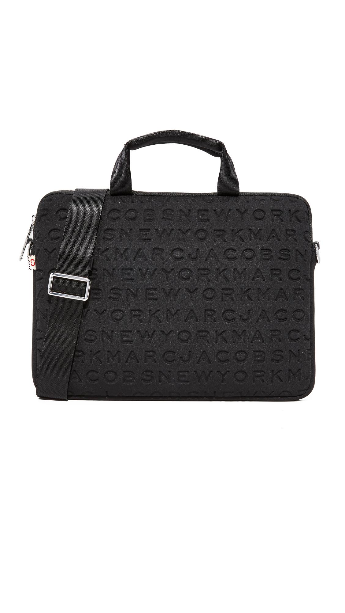 Marc Jacobs 13 Neoprene Logo Commuter Case