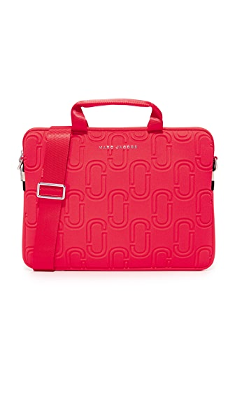 "Marc Jacobs 13"" Double J Neoprene Commuter Case - Poppy Red"