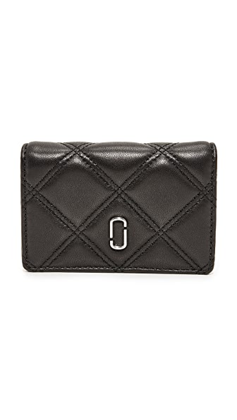 Marc Jacobs Double J Multi Wallet In Black