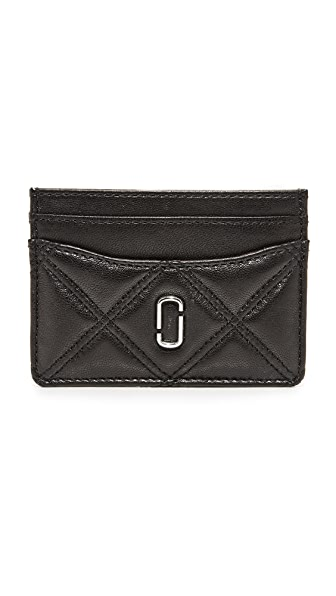 Marc Jacobs Double J Card Case - Black