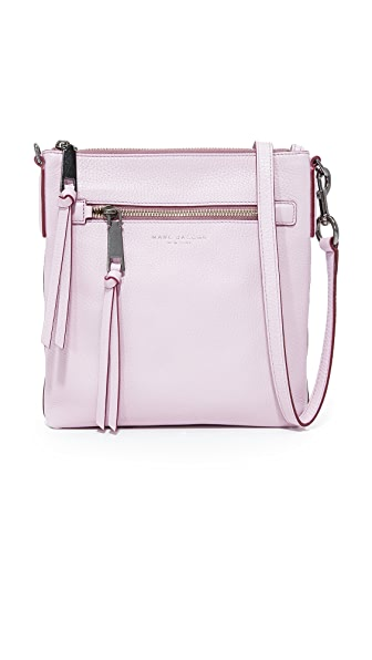 Marc Jacobs Recruit North / South Cross Body Bag - Pale Lilac