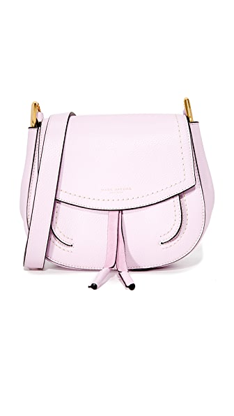 Marc Jacobs Maverick Saddle Bag - Pale Lilac