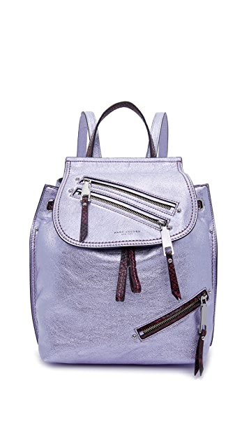Marc Jacobs Metallic Zip Pack Backpack
