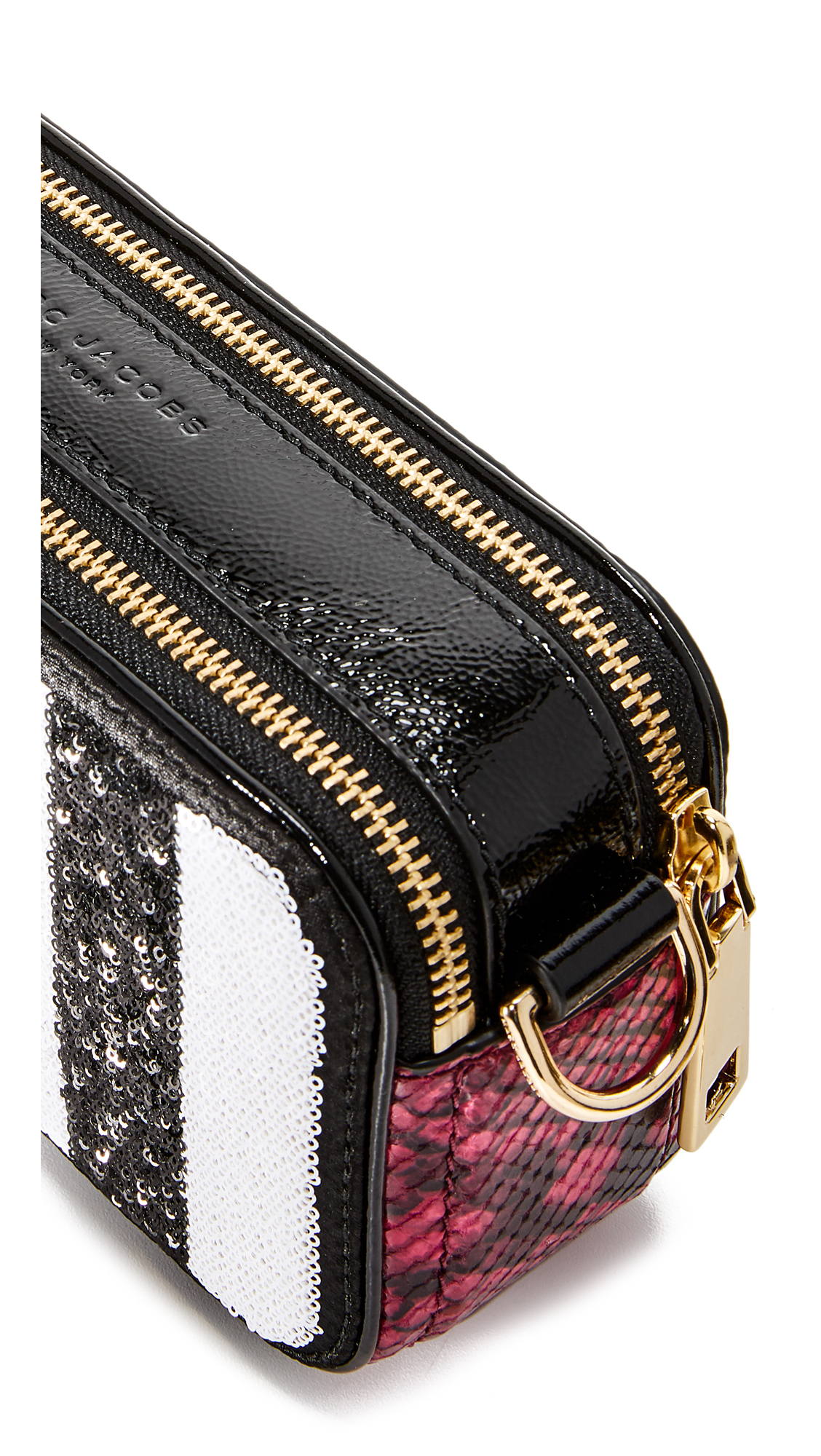 5ad0c6caa8fb Marc Jacobs Sequin Stripes Snapshot Camera Bag