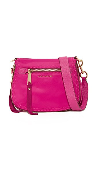 Marc Jacobs Trooper Small Saddle Bag In Hibiscus