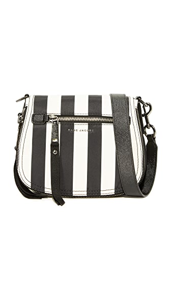 Marc Jacobs Trooper Small Nomad Saddle Bag - Black Multi