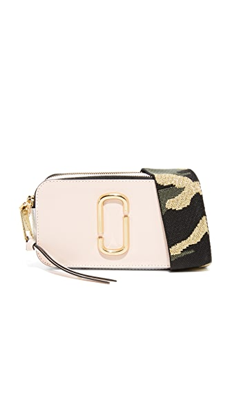 Marc Jacobs Snapshot Camera Bag - Pale Pink Multi