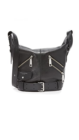 Marc Jacobs Motorcycle Sling Bag - Black