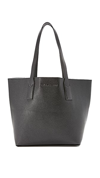 Marc Jacobs Wingman Tote - Black/Silver