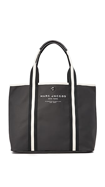 Marc Jacobs Canvas Shopper - Black