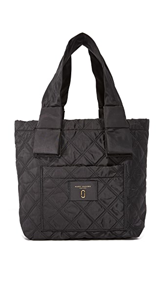 Marc Jacobs Nylon Knot Small Tote - Black