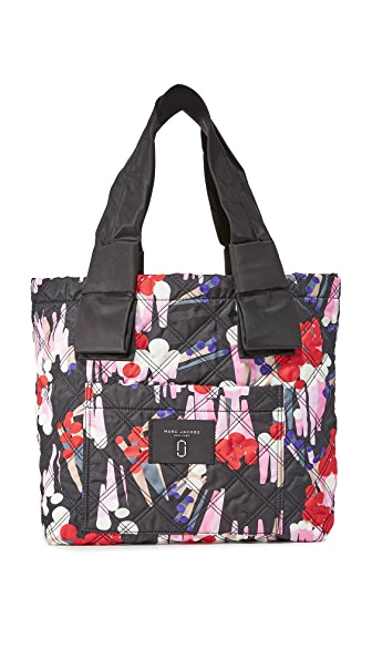 Marc Jacobs Printed Knot Tote - Black Multi