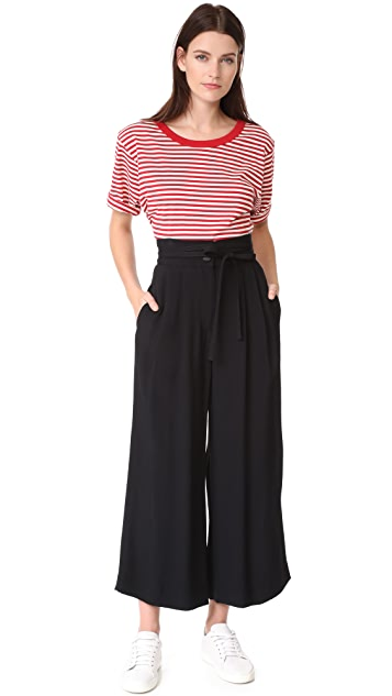 Marc Jacobs Wide Leg Pants with Tie