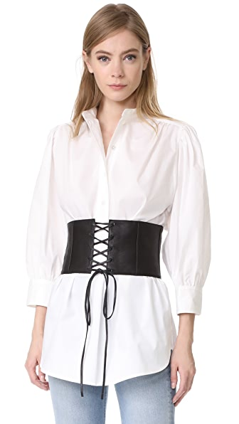 Marc Jacobs 3/4 Sleeve Tunic - White