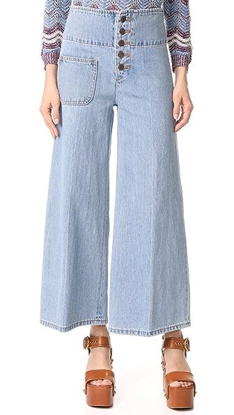 Marc Jacobs Широкие джинсы