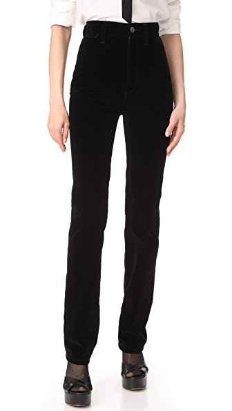 Marc Jacobs High Rise Disco Jeans - Black