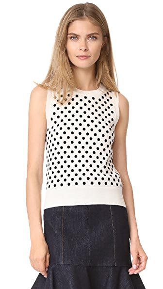 Marc Jacobs Polka Dot Shell - Ivory