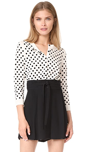 Marc Jacobs Polka Dot Cardigan - Ivory