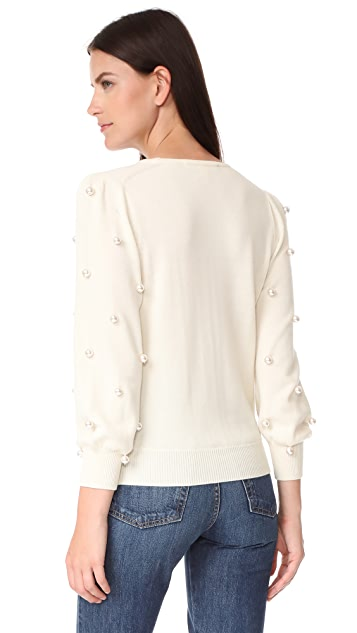 Marc Jacobs Long Sleeve Crew Neck Sweater