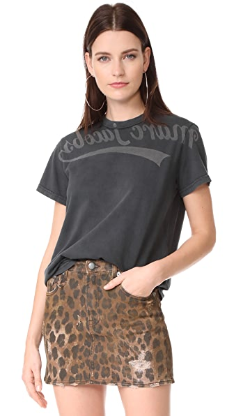 Marc Jacobs Short Sleeve T-Shirt In Black