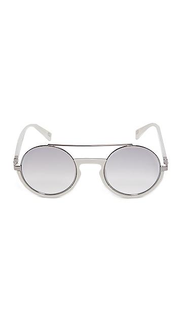 Marc Jacobs Round Brow Bar Sunglasses