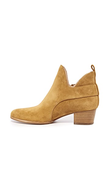 Marc Jacobs Ginger Interlock Ankle Booties