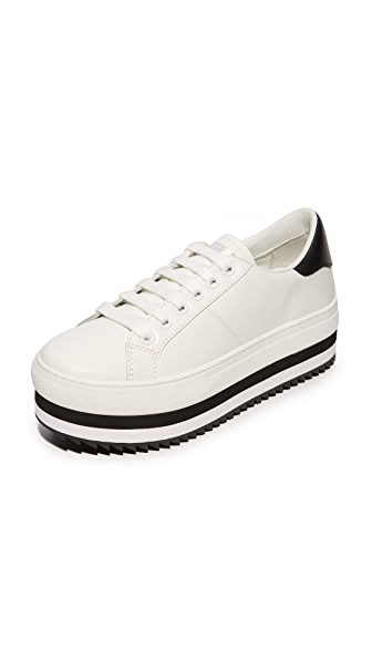 Marc Jacobs Grand Platform Sneakers - White/Black