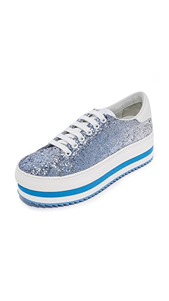 Marc Jacobs Grand Platform Sneakers - Blue Multi